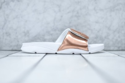 "Jordan Brand Unveils the Hydro ""Pinnacle"" Slide in Metallic Bronze"