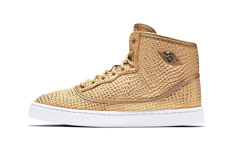 The Jordan Jasmine Gets a Golden Snakeskin Makeover
