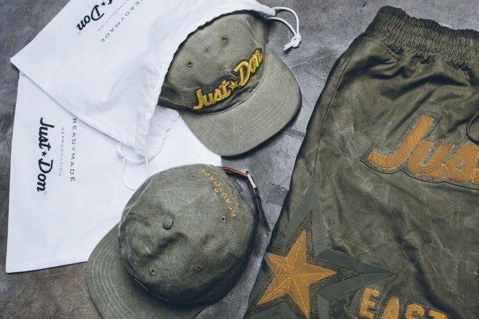 Just Don Joins Forces With READYMADE for a Military-Inspired Capsule