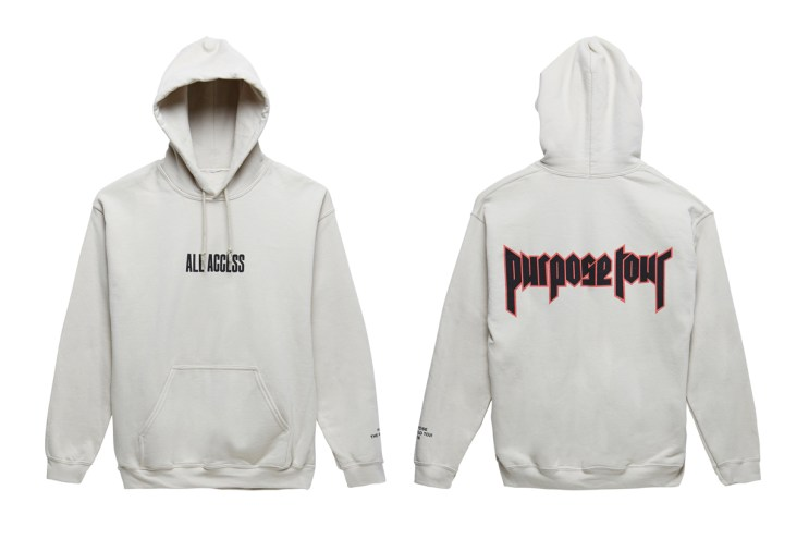 """Justin Bieber Purpose Tour """"All Access"""" Collection to Release Exclusively at PacSun"""