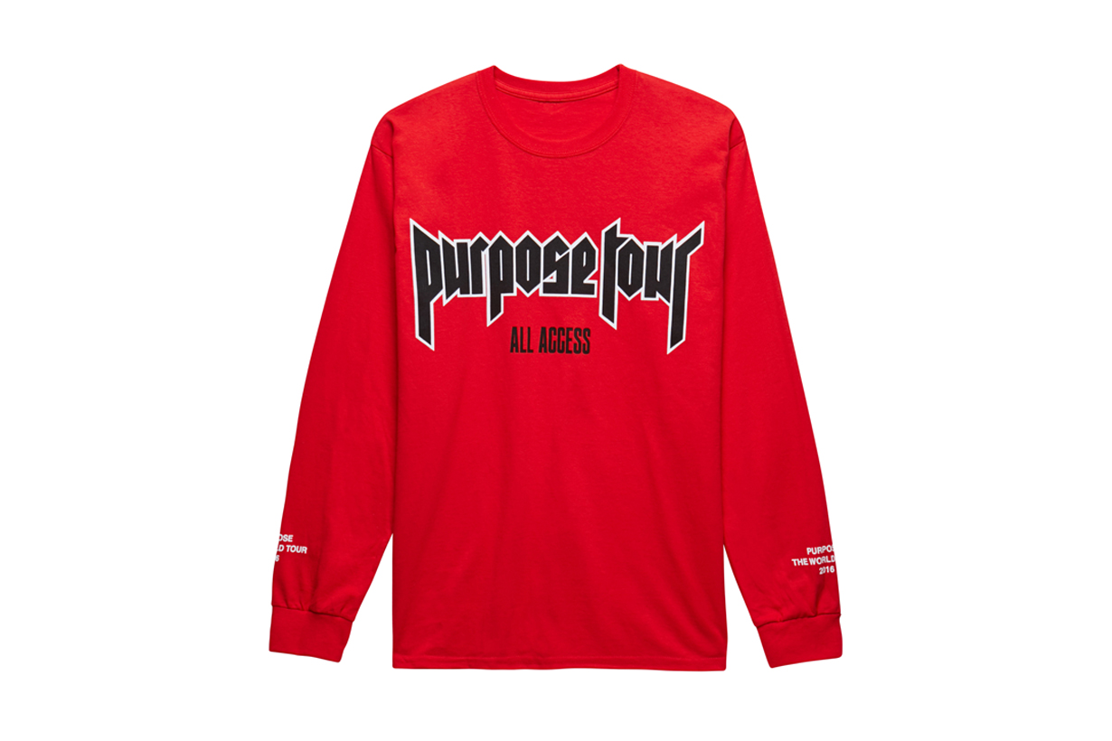 justin bieber purpose tour all access collection hypebeast. Black Bedroom Furniture Sets. Home Design Ideas