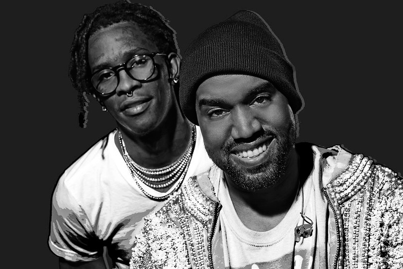 "A New Version of Kanye West's ""Famous"" Leaked With a Young Thug Verse"