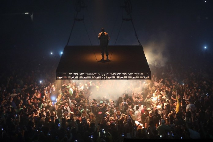 Kanye West Calls out Rappers for Copying the Look of His Saint Pablo Stage Design