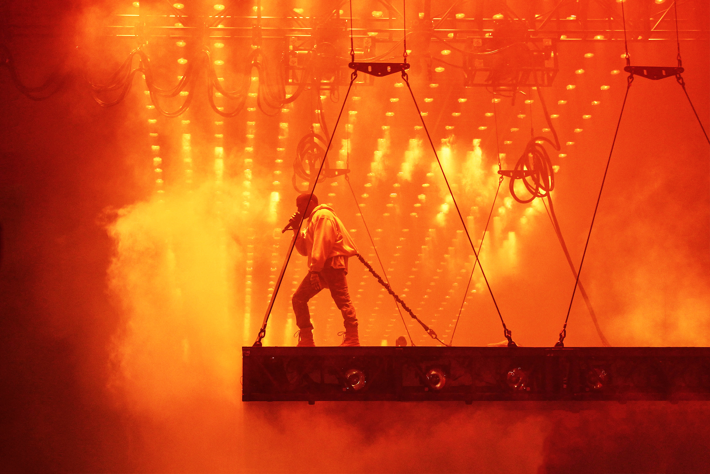 An Overview of Kanye West's Tour Stage Designs