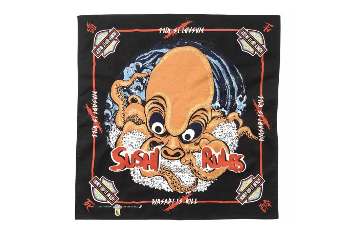 Kapital Releases Obscure Sushi-Themed Bandanas