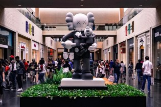 KAWS' 'Clean Slate' Sculpture Looks at Home in Dallas