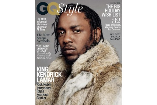 Kendrick Lamar Covers 'GQ Style' Magazine, Sees Himself Doing a Non-Rap Album in the Future