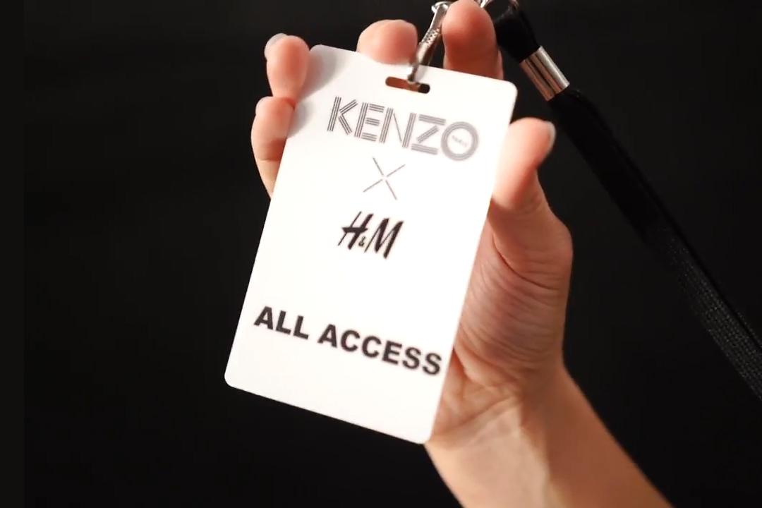 Watch the KENZO x H&M Fashion Show Celebrations