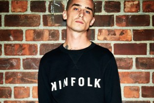 Kinfolk Teams up With Converse Essentials on a Logo Sweatshirt