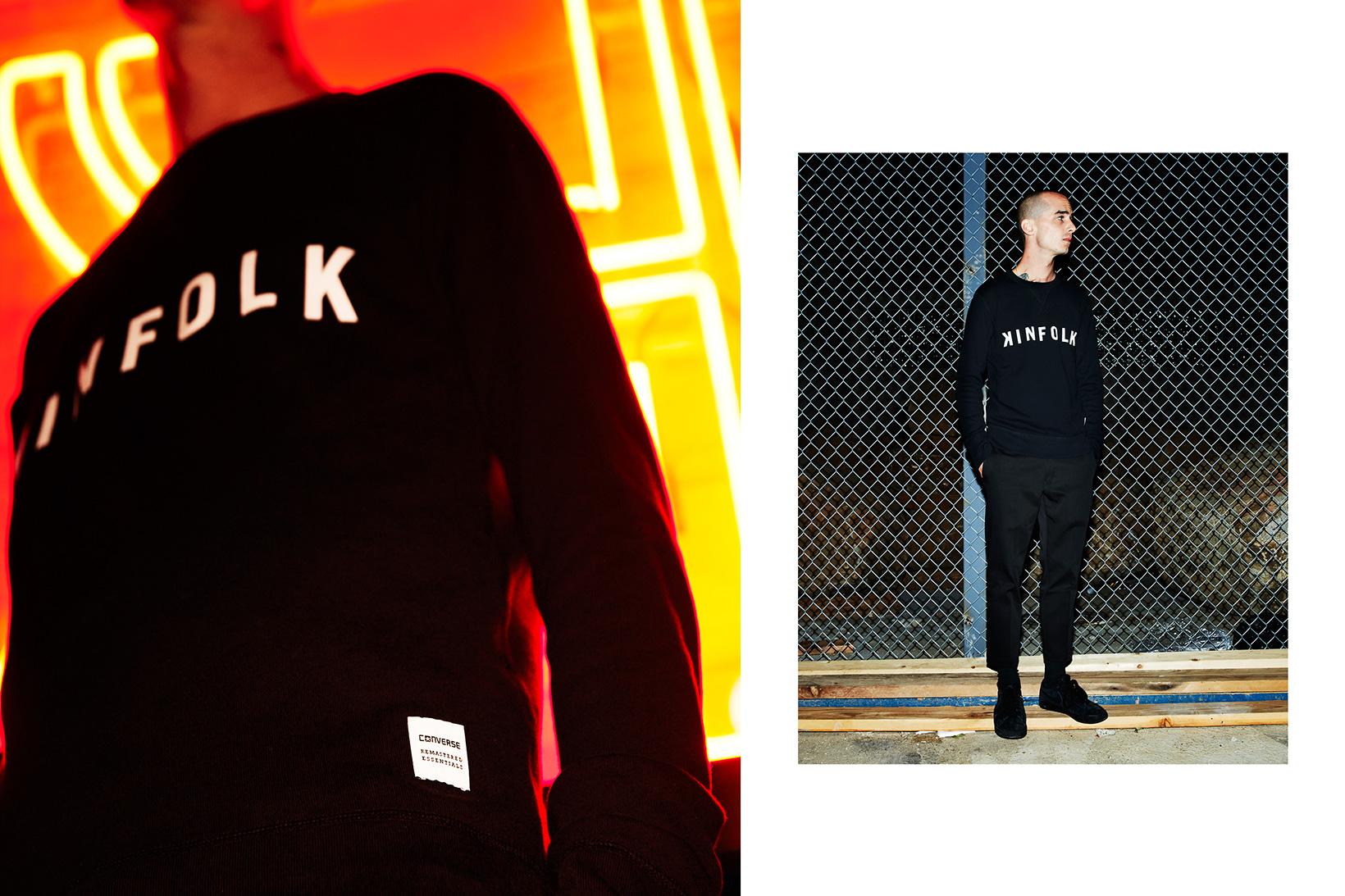 Kinfolk Converse Essentials Logo Sweatshirt - 1782516