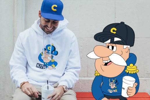 KITH Reveals Collaborative Lookbook Alongside Cap'n Crunch