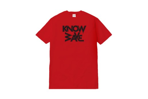 KNOW WAVE Releases New T-Shirt Range via Dover Street Market