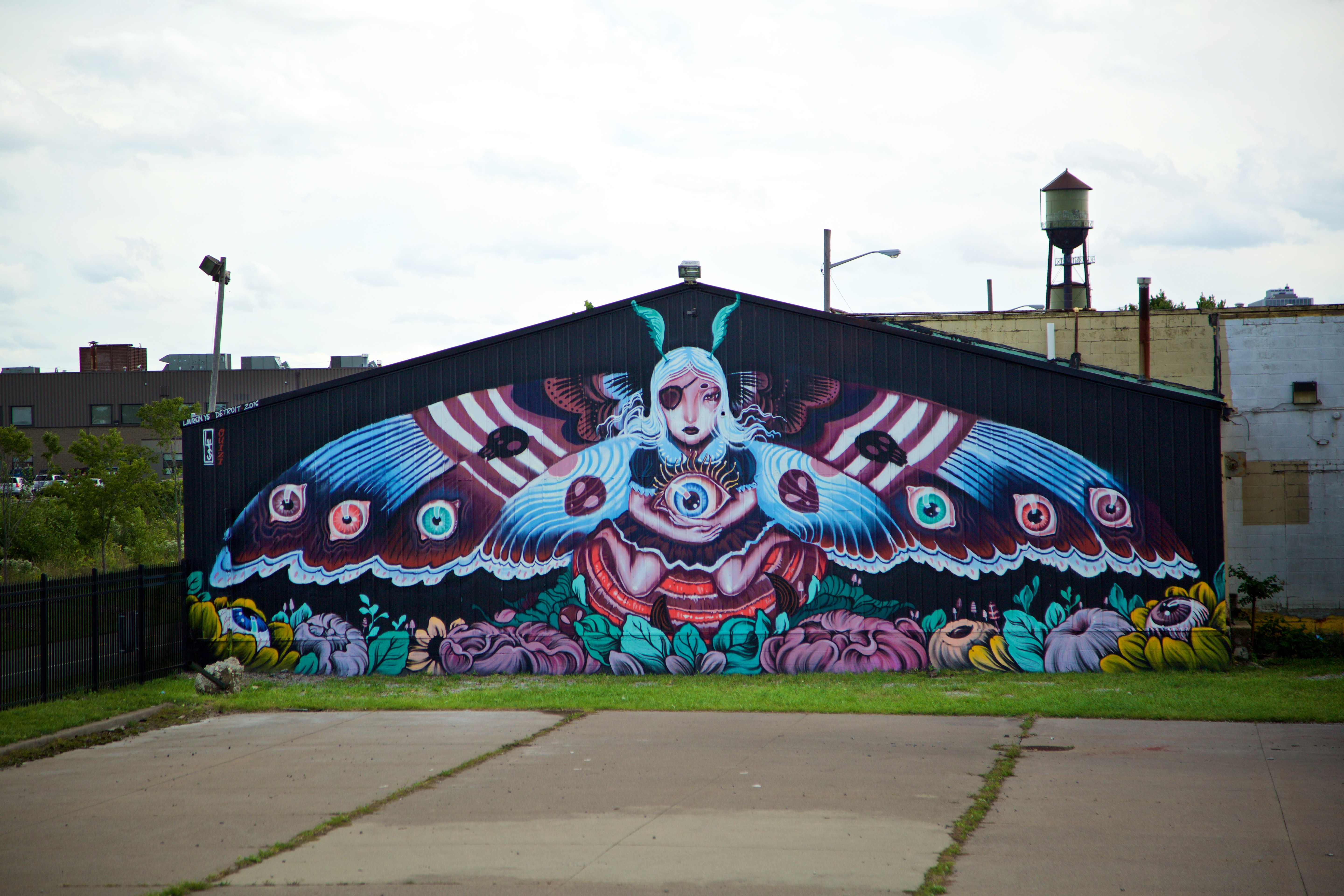 Detroit Mural in the Market 2016 - 1761417