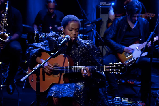 See Lauryn Hill Perform 'Rebel' on 'Charlie Rose'