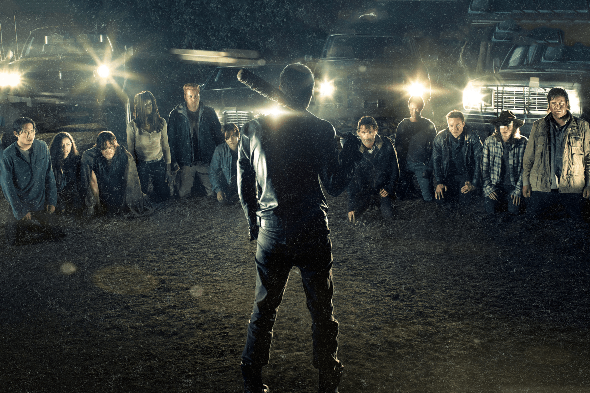 Picture of Check out the Leaked Footage of Alternate Deaths From 'The Walking Dead' Season 7 Premiere