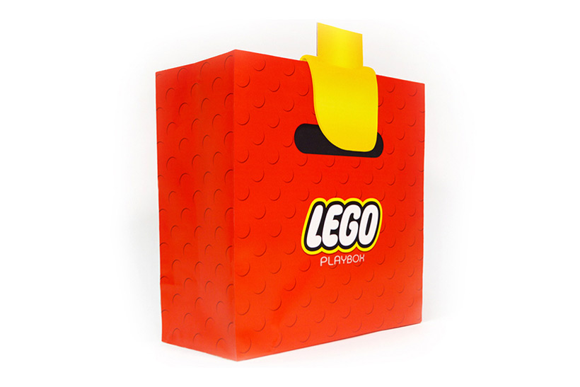 lego playbox shopping bag hypebeast. Black Bedroom Furniture Sets. Home Design Ideas