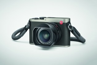 """Leica's Compact Q Gets a """"Titanium Gray"""" Makeover"""