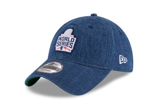 Levi's x New Era Denim World Series Caps