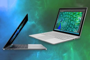 How the New MacBook Pros Compare With Microsoft's Surface Book i7