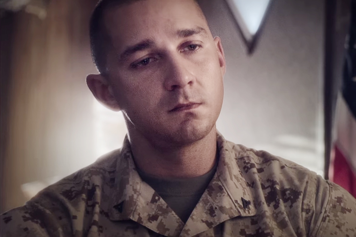 Shia LaBeouf Plays a Struggling War Veteran in Psychological Thriller 'Man Down'