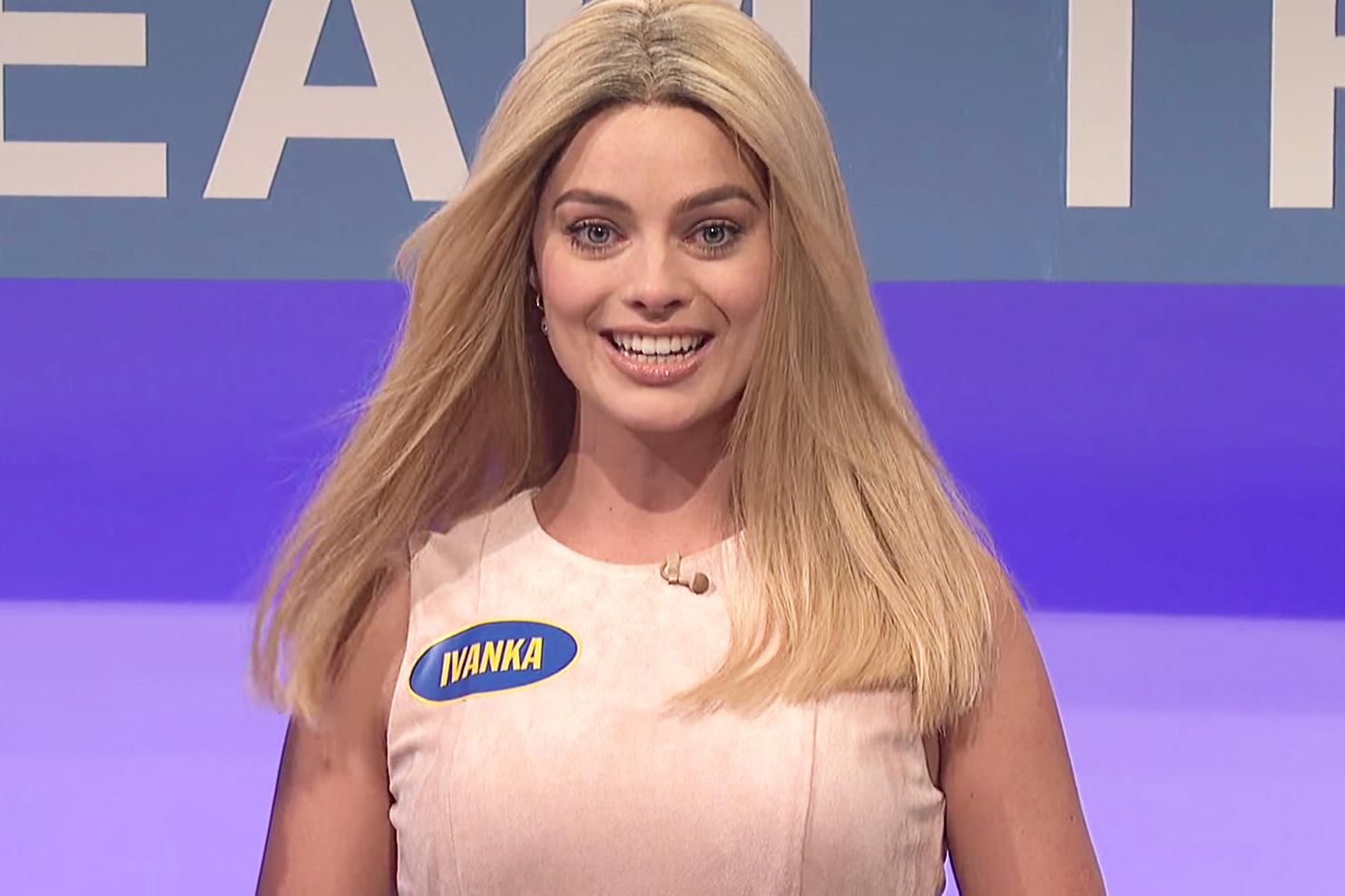 Watch Margot Robbie's Flawless Impression of Ivanka Trump on 'SNL'