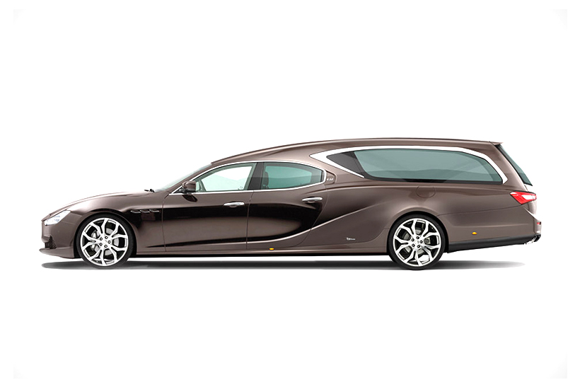 The Maserati Hearse Helps Make Your Last Ride Count