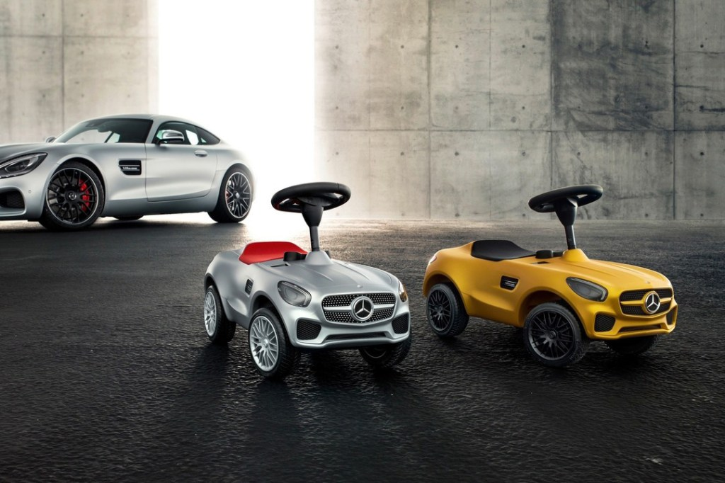 mercedes amg gt bobby car for kids hypebeast ForMercedes Benz Toddler Car