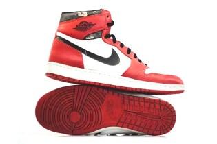 "These Might Be Michael Jordan's Original ""Shattered Backboard"" Sneakers"