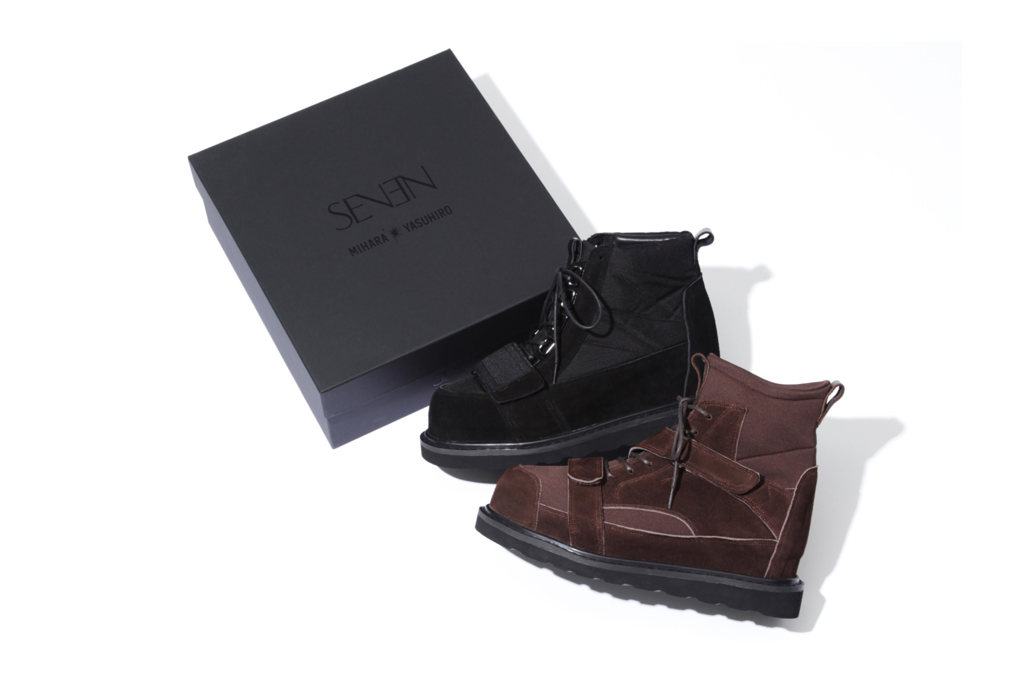 MIHARAYASUHIRO Teams up With STUDIO SEVEN on Two Boot Styles