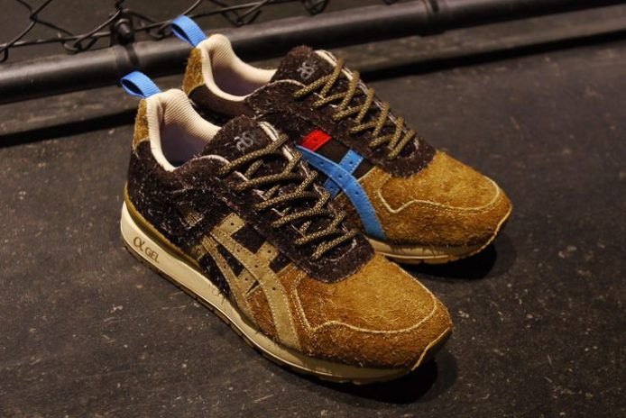"mita sneakers Joins Forces With ASICS to Debut the Limited Edition GT-II ""Squirrel"""