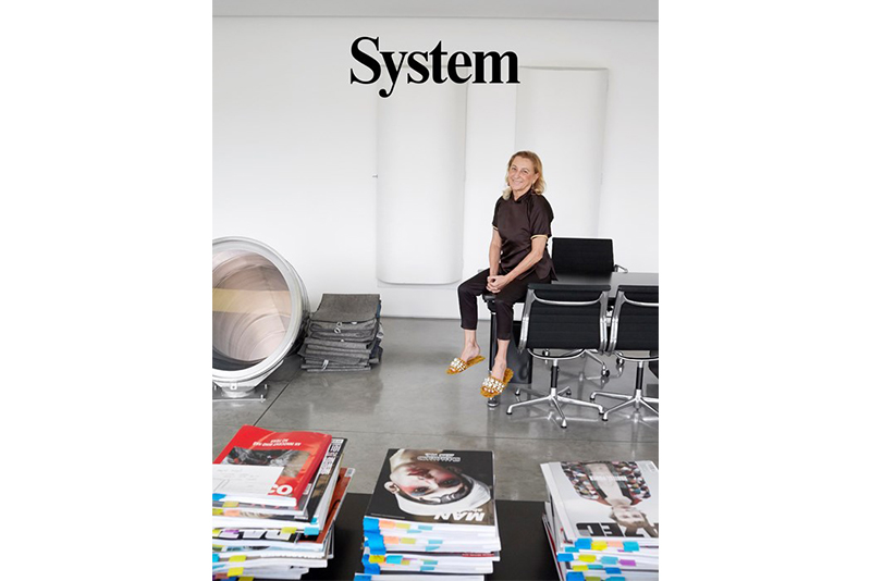 Miuccia Prada and Raf Simons Interview Each Other for Latest 'System Magazine' Issue