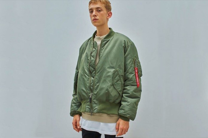 Alpha Industries Returns to the Original MA-1 Jacket With monkey time