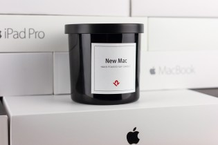 """Relive Your MacBook Unboxing With This """"New Mac Candle"""""""