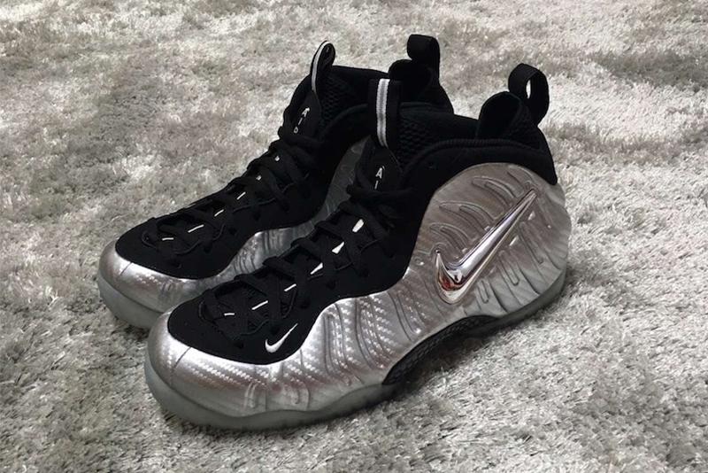 "Nike Air Foamposite Pro ""Metallic Silver"""
