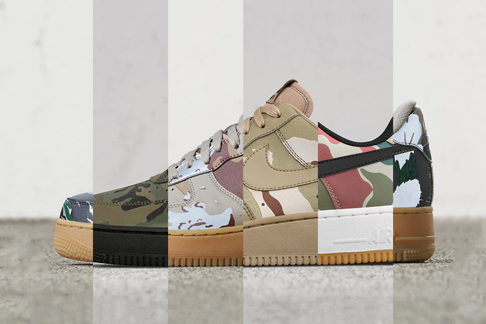 Nike Air Force 1 Low Camo Reflective Pack - 1766613