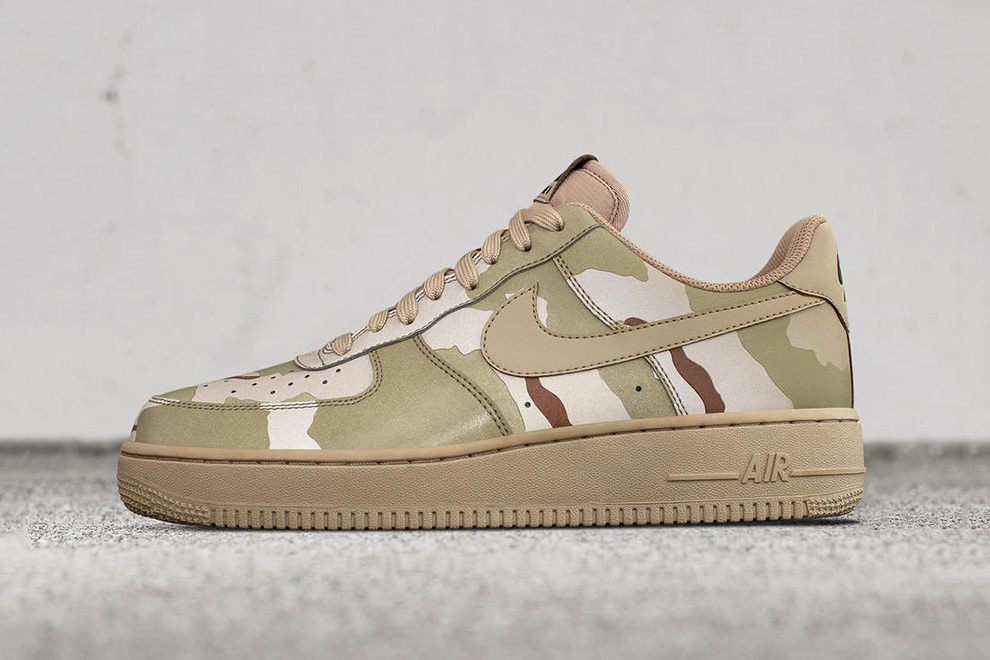 Nike Air Force 1 Low Camo Reflective Pack - 1766532