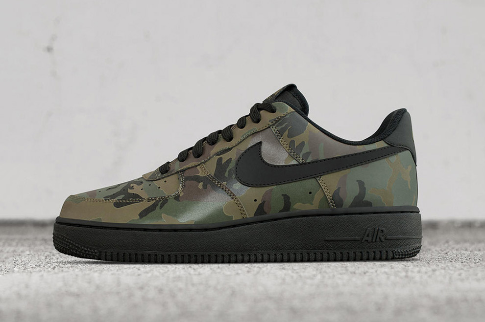 nike camo air force 1 reflective nz