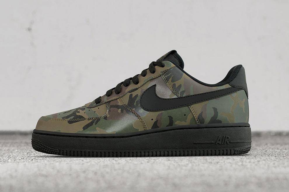 48f960ca6b4 Nike Air Force 1 Low Reflective Green Camo