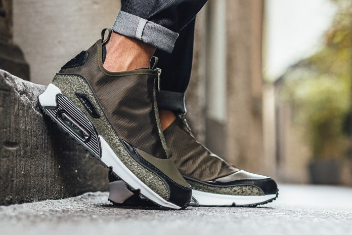 Nike Dresses the Air Max 90 Utility in Olive Hues