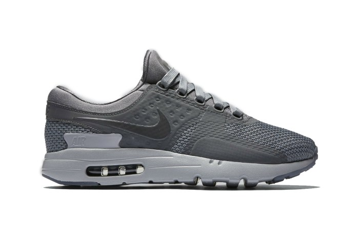 "Nike's Air Max Zero Silhouette Gets a ""Cool Grey"" Treatment"