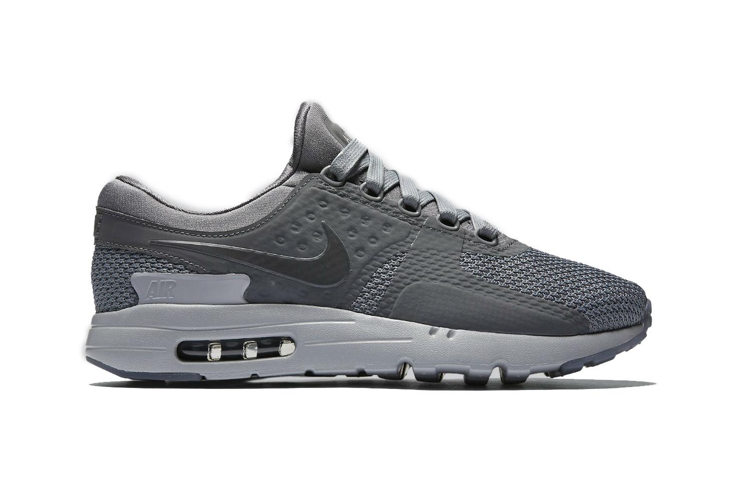 "Nike's Air Max Zero Silhouette Gets a ""Cool Grey"" Treatment"
