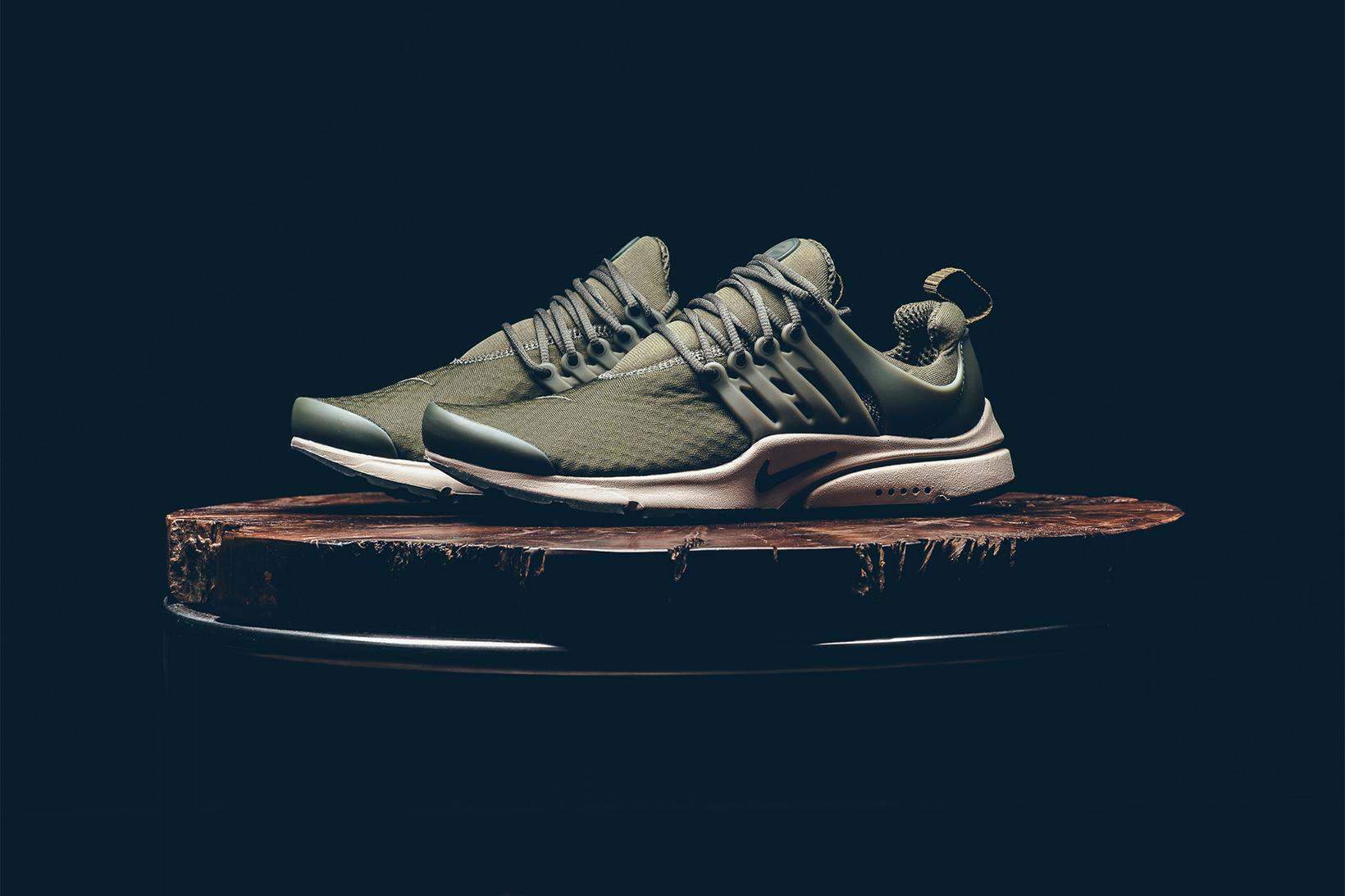 "Nike Dresses the Air Presto Essential in ""Cargo Khaki"""