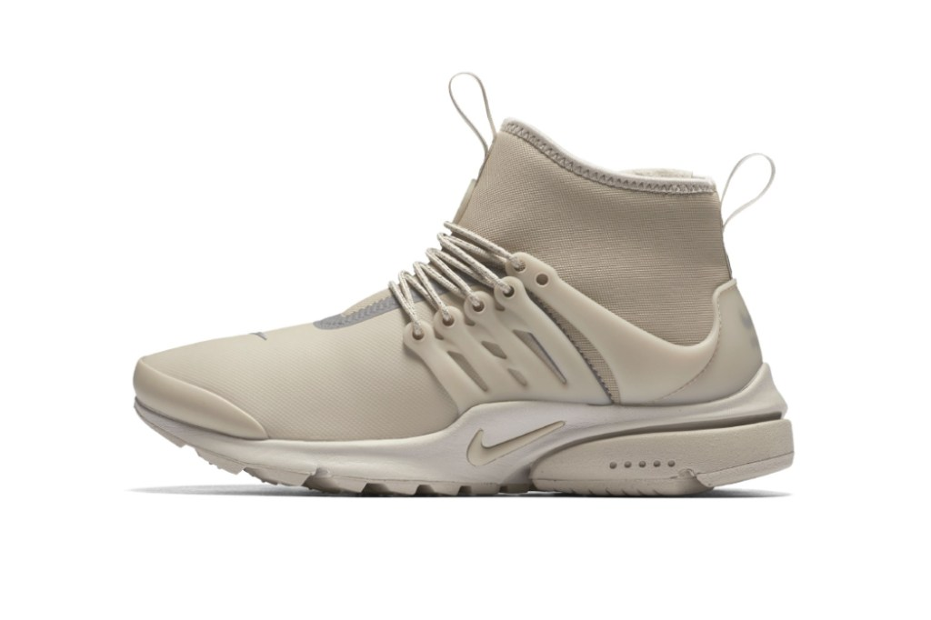 nike air presto mid utility beige hypebeast. Black Bedroom Furniture Sets. Home Design Ideas