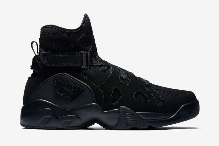 "The Nike Air Unlimited Returns in ""Triple Black"""