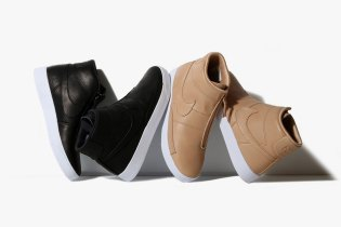 The Nike Blazer Advanced Gets Wrapped in Black and Vachetta Tan