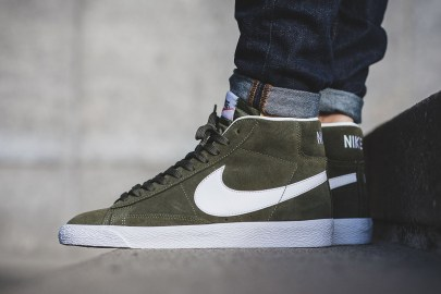 The Nike Blazer Mid Gets a Premium Green Colorway