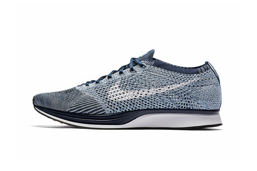 "Nike's Flyknit Racer Has Received a ""Blue Tint"" Makeover"