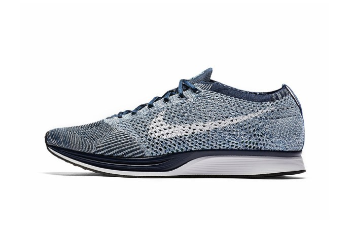 """Nike's Flyknit Racer Has Received a """"Blue Tint"""" Makeover"""