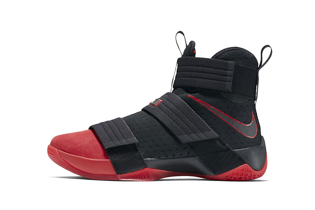 Nike Dips the LeBron Soldier 10 in Blood Red Suede