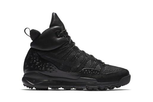 "Nike's Lupinek Flyknit Returns With the ""Triple Black"" Treatment"